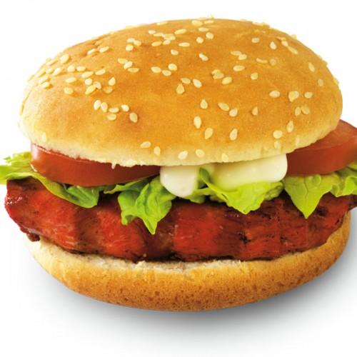 Grilled Tikka Burger