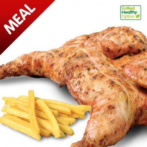 Grilled Peri Peri Chicken Meal