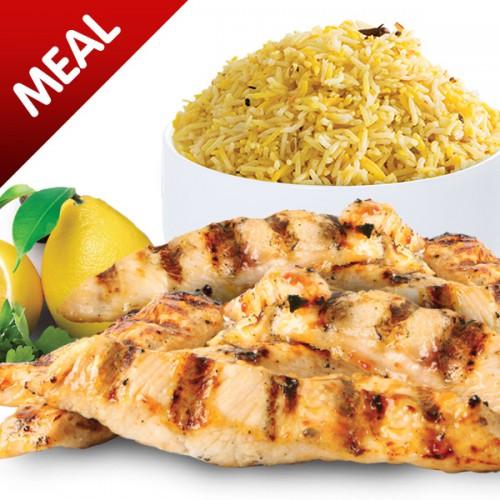 Grilled Peri Peri Strips Meal