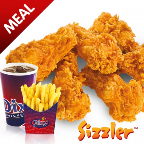 Sizzler Wings Box Meal